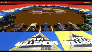 Monster Jam @ Atlanta 2016 Part 1 (Roblox Monster Jam Championship Series)