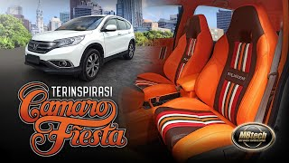 Interior Honda CR-V - Terinspirasi Desain Katalog