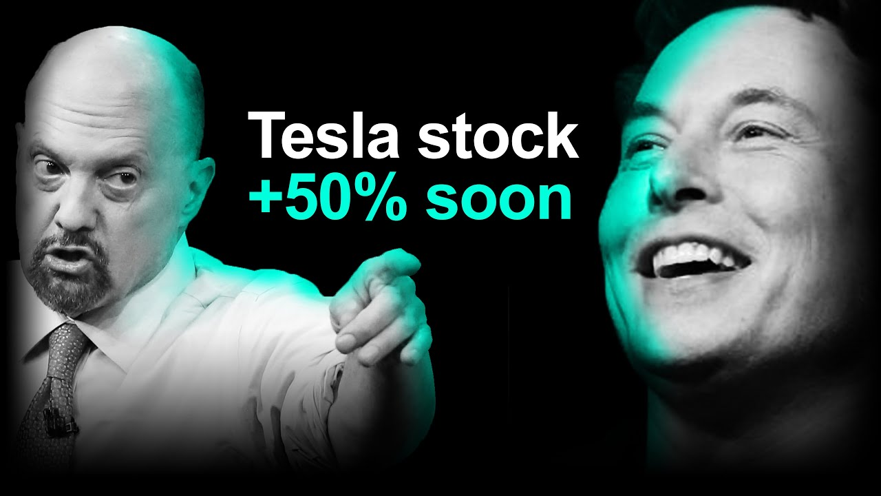 Analyst: Tesla Stock +50% Over Next Year (Cramer clueless)