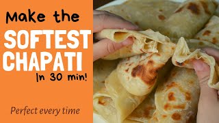 How to make Soft and quick chapatis