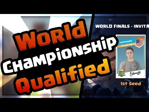 CCGS WORLDS QUALIFIED! Clash Royale Championship