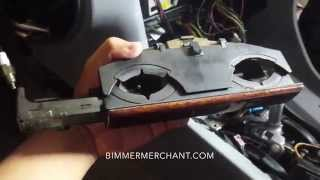 BMW E38 740 Center Dash Cup Holder Removal(, 2015-11-15T01:57:42.000Z)