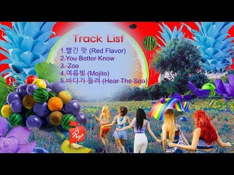 [Full Album] Red Velvet - The Red Summer [Red Flavor Album] . Summer Mini Album 레드벨벳 빨간맛 앨범