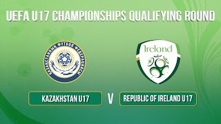 The Republic of Ireland Under 17's secured qualification to the Eli...