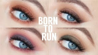 Urban Decay BORN TO RUN PALETTE | 4 LOOKS 1 PALETTE | Beauty District