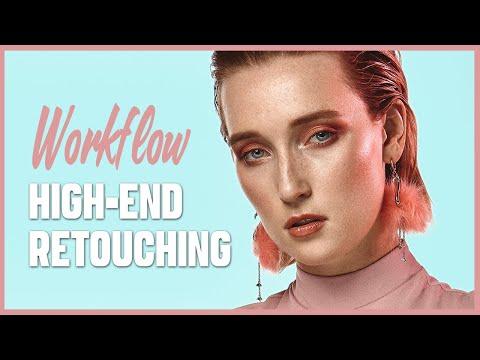 Workflow High-End Retouching - Speed Retouching (#Photoshop #CaptureOnePro) | GioBrizzi