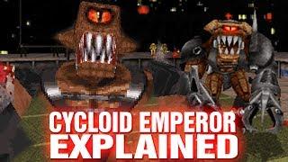 THE CYCLOID EMPEROR EXPLAINED - DUKE NUKEM STADIUM BOSS