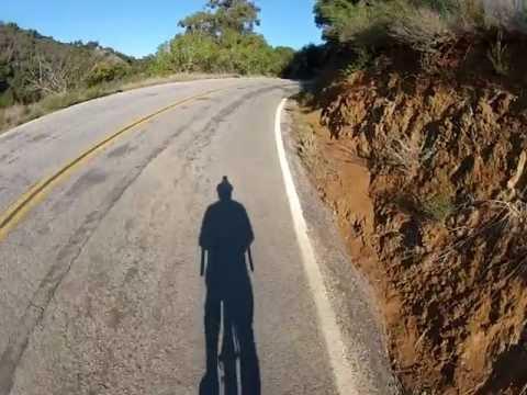 Shadow Cyclist: Moody Road, California