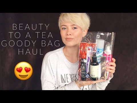 Beauty To A Tea Goody Bag Haul