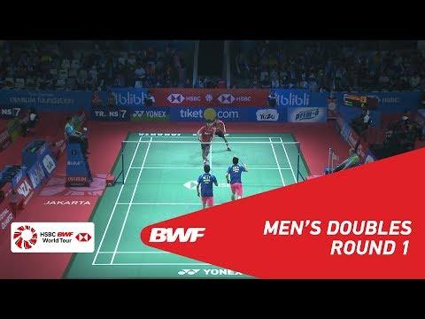2018 BWF vs. Karandasuward/Pratama((INA) vs. He/Tan(CHN)