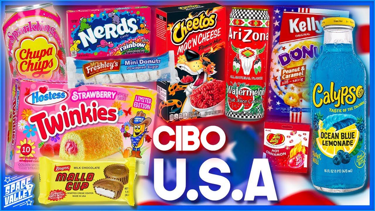 20 CIBI AMERICANI! - Taste Test