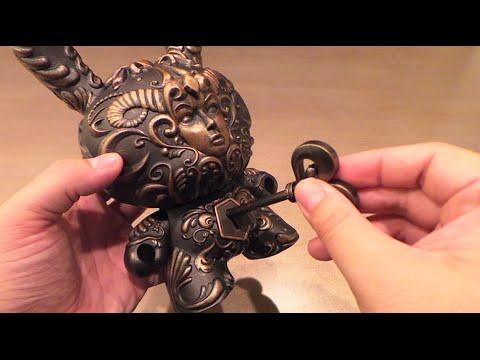 "Kidrobot ""It's a F.A.D."" 8 inch Dunny by Jesse Yu (J*RYU)"