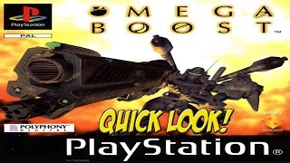 PSOne: Omega Boost! Quick Look - YoVideogames