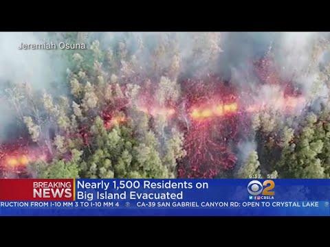 Lava Streams Towards Homes After Hawaii Volcano Erupts, Hundreds Evacuate