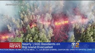 Lava Streams Towards Homes After Hawaii Volcano Erupts, Hundreds Evacuate