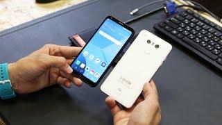 Быстрый обзор   смартфон LG Q6