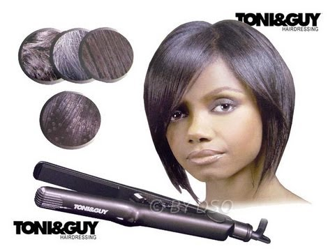 Hair Talk Toni Amp Guy Afro Straighteners Review YouTube