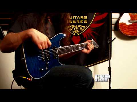 ESP Guitars: Rob Caggiano demos the ESP Horizon NT-II