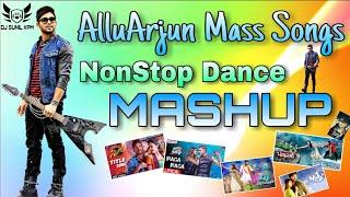 AlluArjun Mass Songs DJ Remix Mashup By Mix Master DJ SUNIL KPM
