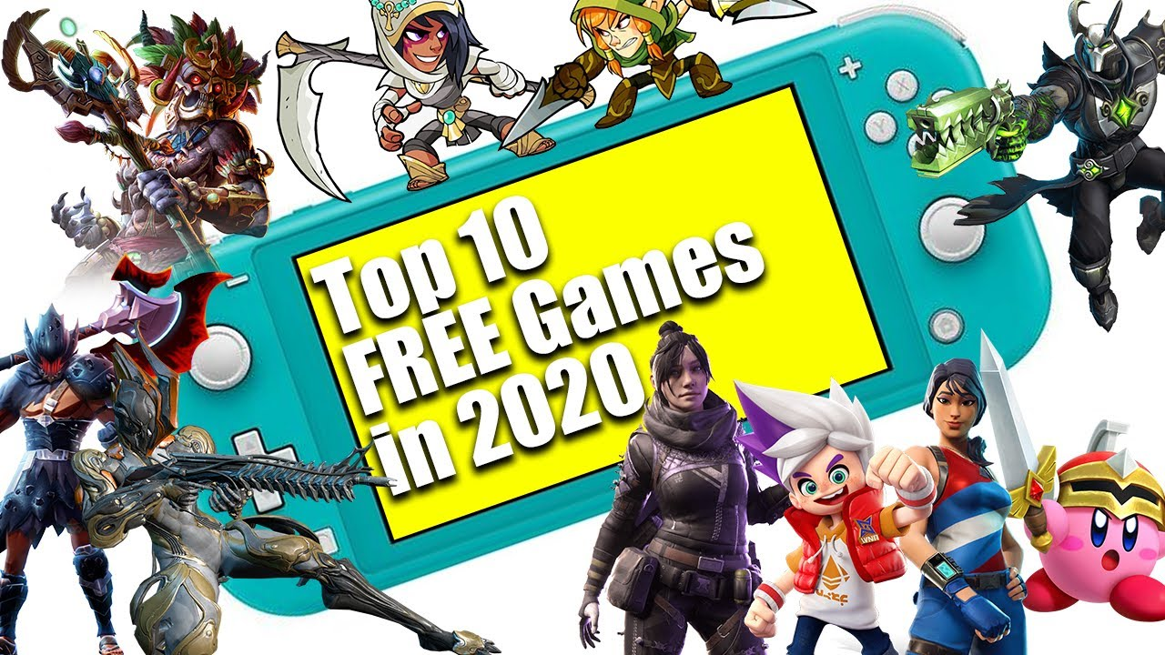 Top 10 Free Nintendo Switch LITE Games in 2020