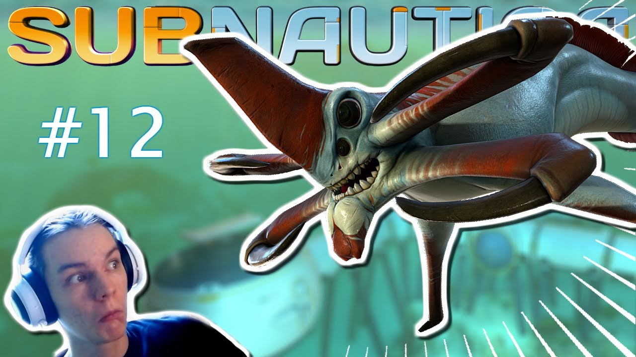 NAPADEL ME JE REAPER LEVIATHAN!! | Subnautica #12