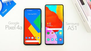 Google Pixel 4a vs  Samsung Galaxy A51: Which One Is Better?
