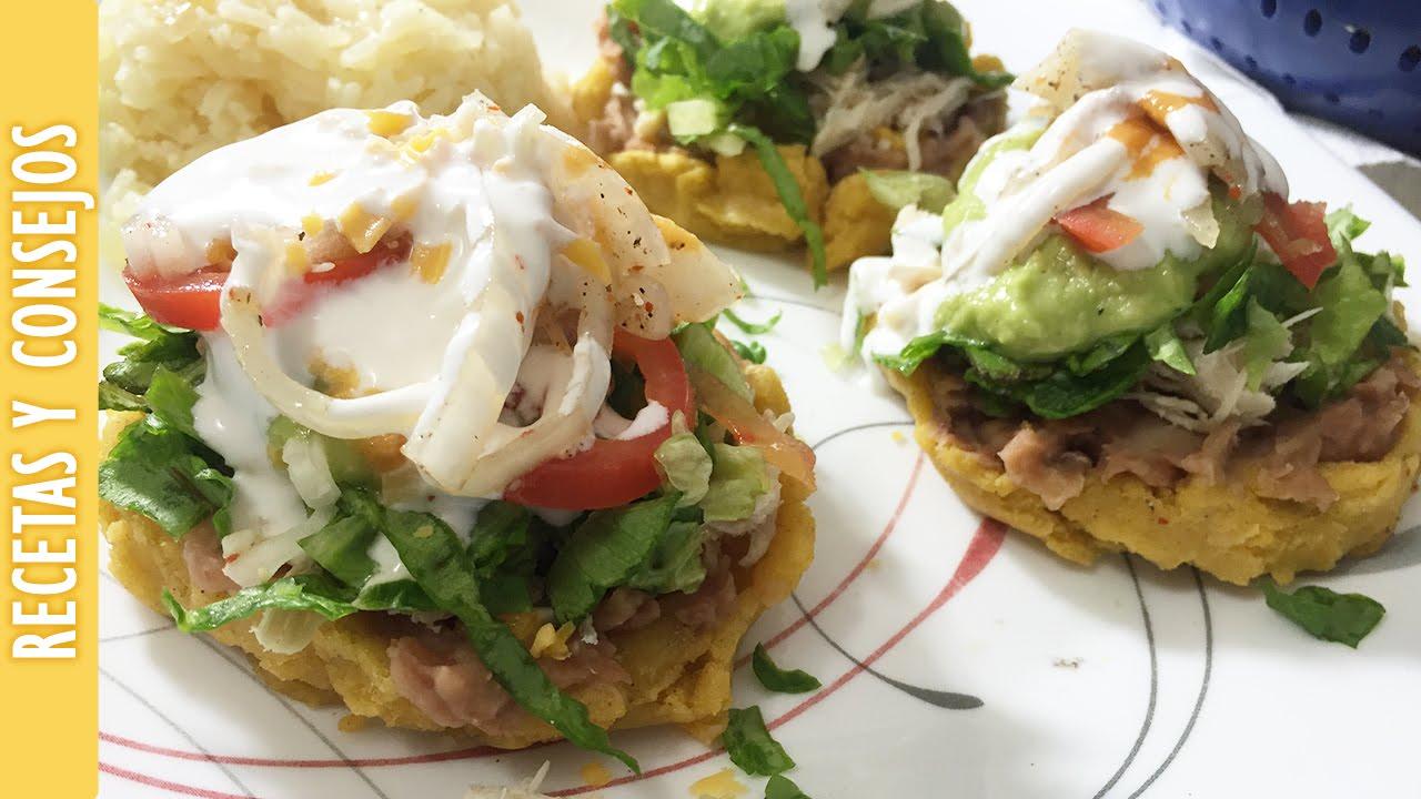 RECETA: Sopes Mexicanos con Frijoles, Queso y mas ...