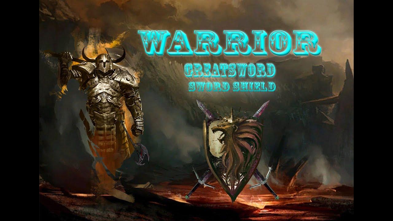 Guild Wars 2 Warrior Build - Greatsword - Sword and Shield