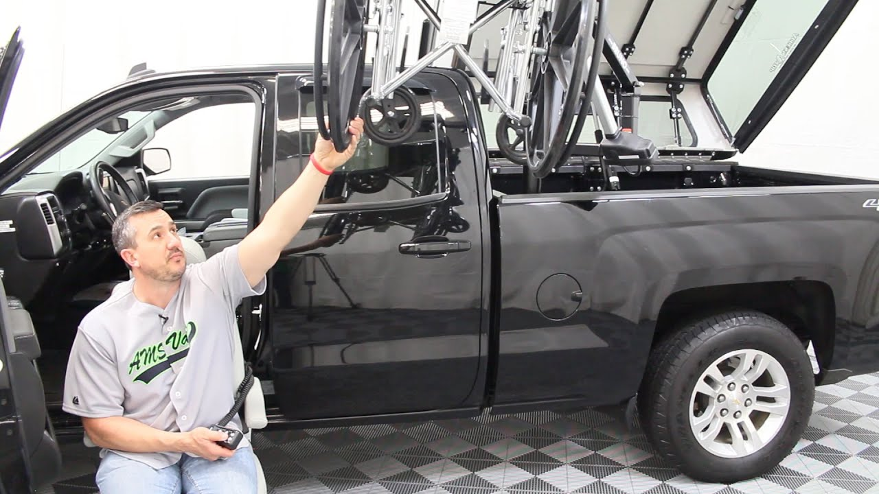 Truck\'s Turning Seats, Chair & Camper Wheelchair Lift | AMS Vans ...