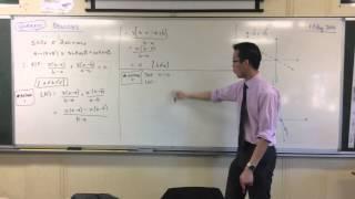 Quadratic Identities (2 of 4: Substituting 3 Values)
