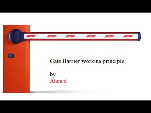 Gate Barrier Working principle--- How  is Gate Barrier Working