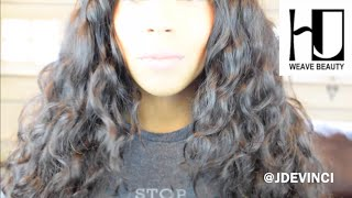 affordable virgin hair review   initial install   hj weave beauty aliexpress