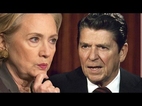 Hillary Clinton vs. Ronald Reagan   🇺🇸