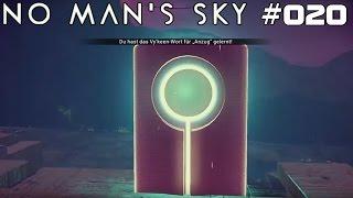 NO MAN'S SKY | Wort um Wort | #020 | ★ LIVE LET'S PLAY ★ [Deutsch / German]