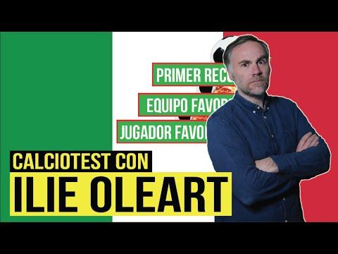 CALCIOTEST con ILIE OLEART de LA MEDIA INGLESA