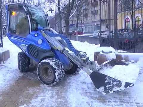 2018-01-18 г. Брест.Зима пришла - коммунальщики на страже. Новости на Буг-ТВ. #бугтв