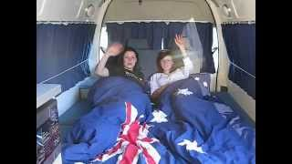 5 Person Automatic Campervan - 2 big beds and plenty of room | travelwheels campervans