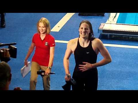Missy Franklin wins at the Olympic Trials!