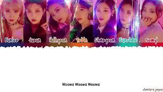 DIA - 'WOOWA' (우와) Lyrics [Color Coded_Han_Rom_Eng]