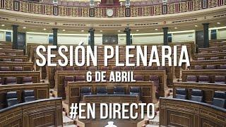 Pleno (6 de abril de 2016)