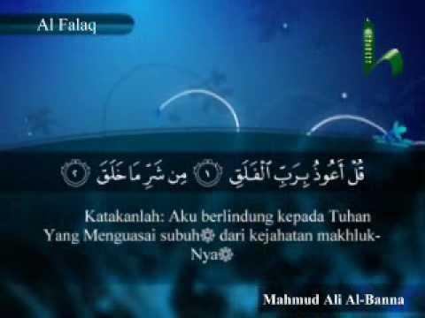113 Surah Al Falaq Al Quran Terjemahan Indonesia