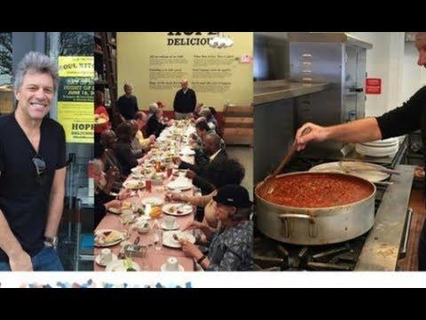 Талантливый человек талантлив во всем: Джон Бон Джови открыл два ресторана!