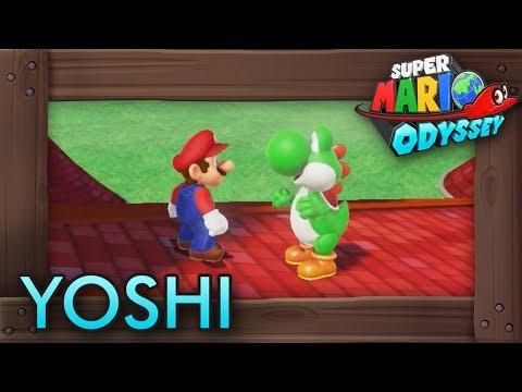 Super Mario Odyssey - How to Capture Yoshi
