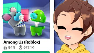 the BEST AMONG US games in Roblox!