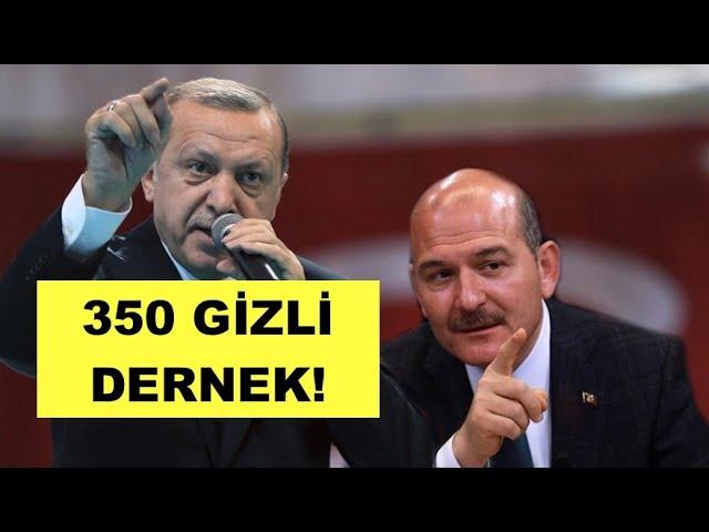 İÇİŞLERİ BAKANLIĞI'NIN YARDIM YAPTIĞI 350 GİZLİ DERNEK!
