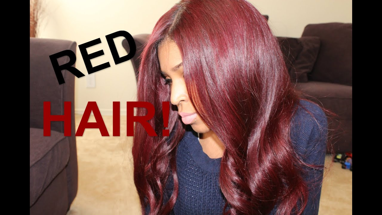 My New Red Hair Cls025 Youtube