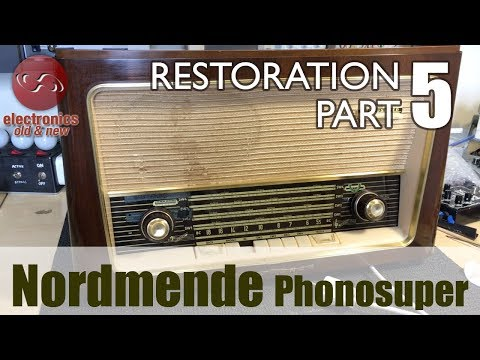 Nordmende Phonosuper radio restoration - Part 5. Restoration done!