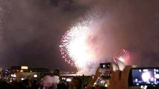 Sydney 2017 New Year's Eve 9 pm Fireworks at Sydney Harbour Foreshore thumbnail