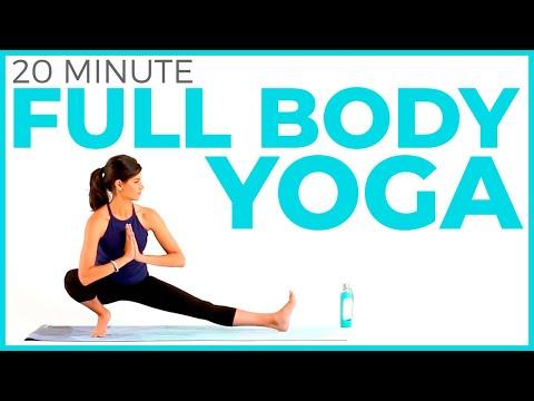 20 minute Full Body Yoga Flow | Intermediate Vinyasa Yoga Routine