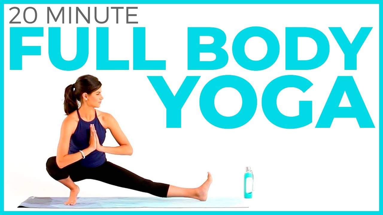 Full Body Yoga Flow (20 minute Yoga) Intermediate Vinyasa Yoga Routine |  Sarah Beth Yoga
